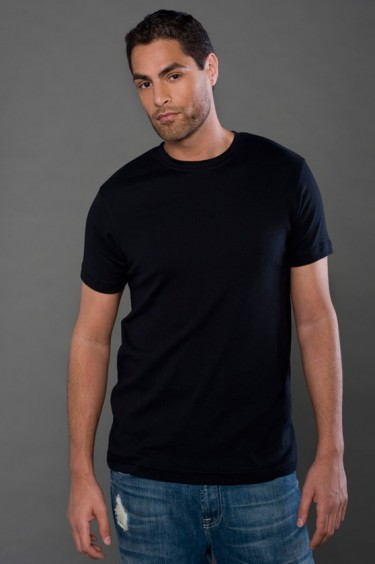 Fine Interlock Short Sleeve Crew
