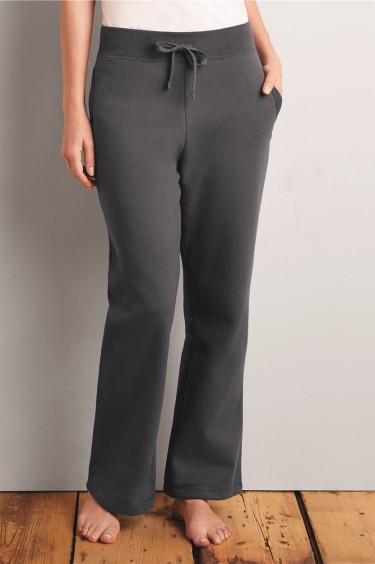 Heavy Blend? Ladies' Missy Fit Open Bottom Sweatpants