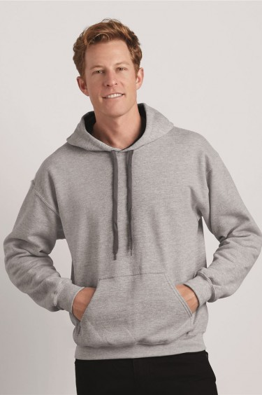 Heavy Blend? Hooded Sweatshirt with Contrast Color Lining