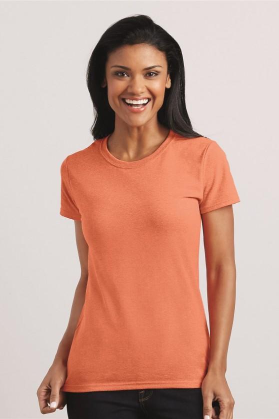 Ladies' Heavy Cotton Short Sleeve T-Shirt