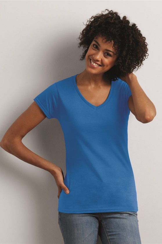 Junior Fit Softstyle V-Neck T-Shirt