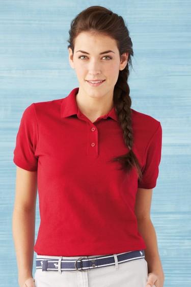 Ladies' Performance Double Pique Sport Shirt