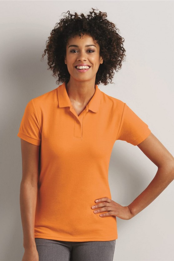 Ladies' DryBlend Double Pique Sport Shirt