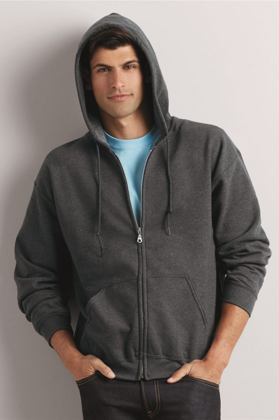 Heavy Blend? Full-Zip Hooded Sweatshirt