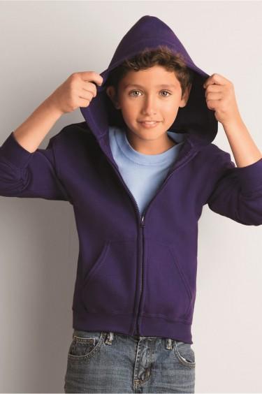 Heavy Blend? Youth Full-Zip Hooded Sweatshirt